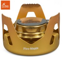 Fire Maple FMS-122 Poêle à l'alcool Portable Camping Randonnée Poêle sportif Ultralight Outdoor Liquid Solid Fuel Stove