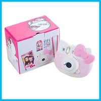 Wholesale Hot Sale Refurished Mini Hello Kitty Instant Camera INS MINI KIT Polaroid Film Camera