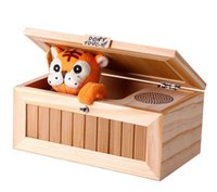 > 3 years old animal sounds audio - Audio Version Tiger Made Roar Thunder Sound Voice Wooden Useless Box Boring Box Don t Touch it Cute Cartoon Box The same Youtube
