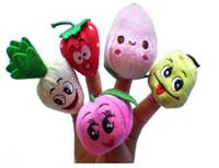 Wholesale 2017 new Retail Baby Plush Toy Finger Puppets Talking Props set good desgin