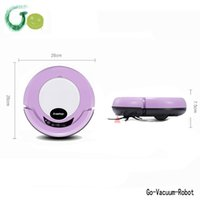 air cleaner housing - Purple mini floor Vacuum cleaner robot for house clean sweeper device for home appliance mop robot cleaner