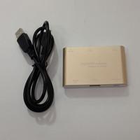 android vga adapter - BOHAI Hot Sale Digital AV Adapter For iOS Android Phone Tablet Windows PC MacBook Micro USB to HDMI VGA
