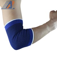 Wholesale hot sale A pair of knitted sports protective elbow set absorbent sweat warm breathable elbow YD07