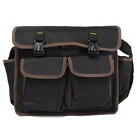 aluminum hardware cloth - Black Waterproof Oxford Cloth Thicken Oxford Multi Funtional Hardware Toolkit Shoulder Strap Tool Bag Backpack