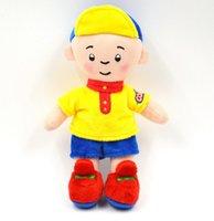 achat en gros de caillou jouet en peluche-Grossiste- 18CM Caillou Stuffed Peluches Mignon Nouveau Cartoon Hobby Peluche Peluche Meilleur cadeau pour les enfants Brinquedos Baby Toy
