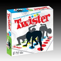 Wholesale Twister Board Game Adults English Version Party Family Board Game with English Instructions