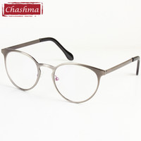 wholesale chashma small frame plain mirror eye glasses round optical glasses frames for women and men