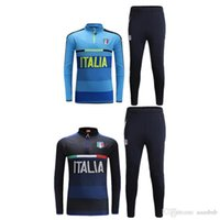 Wholesale Top quality shall Italy training wear sportswear Jogging leisure soccer sportswear brand workout clothes