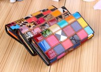 Wholesale 2016 new women s leather first layer of long leather hand European and American style pattern wallet