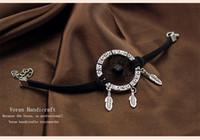 bangles craft - New Mini Indian Dreamcatcher Bracelet Design Vintage Dream Catcher Decor Bracelets Bangles for Women Decorative Crafts Gifts