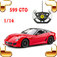 Wholesale Boyfriend Gift F599 GTO RC Roadster Car Remote Control Toy Model Speed Racing Road Crash Drift Radio Control Cars