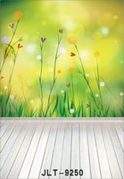 baby photos wallpapers - spring flowers wallpaper wooden floor photography background for wedding children baby computer printed vinyl backdrop for photo studio