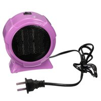 Wholesale Warm Durable Quality Hot Selling Mini Personal Ceramic Space Heater Electric Winter Warmer Fan Blue US Plug