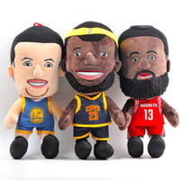 basketball video games - EMS New Styles quot CM Basketball Players Plush Doll Super Stars James Harden Curry Dolls Party Birthday Gifts Soft Stuffed Toys