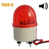 Wholesale LTE J Mini Flashing Bulb Warning Light AC220V MM Diameter W With Sound dB For Forklift