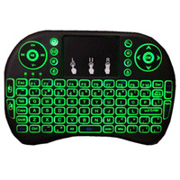 backlight keyboard - Colorful Rii I8 GHz Wireless Mouse Gaming Keyboard colorful Backlight Remote Control for S905X S912 Android TV Box T95 X96 Mxq Pro