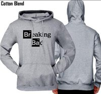 Wholesale 2016 Hot Sale Direct Selling None Cotton Blend Heisenberg Breaking Bad Print Men s Hoodies with Hat Casual Men Sweatshirt for B01