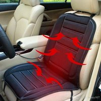 Wholesale Car Heated Seat Cushion Cover Auto V Heating Heater Warmer Pad Winter Seat Cover