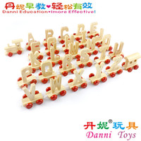 as pic wooden train letters candice guo hot sale baby educational wooden toy letters cognation