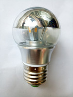 Globe bedroom lighting tips - New arrival Half Chrome Tip G45 Bulb W W E27 Warm White Light LED Lamp Bulb for Jason Miller MODO Chandelier Droplight