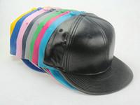 Precio de Sombreros de béisbol en blanco snapback-2017 Nueva piel en blanco No snapback marca gorras de béisbol Gorras