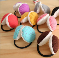 best earmuffs - Women Winter Candy colored Dot Warm Plush Earmuffs Random Shipment Your Best Choice Perfect Gift For Your Friends