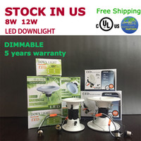 best retailer - Dimmable W W Led light led Recessed Downlight UL cUL Energy star Stock in US best choice for retailer
