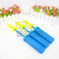 air pump design - Good quality Plastic Balloon Pump Hand Soccer Needle Ball Party Inflator Air Pump new design