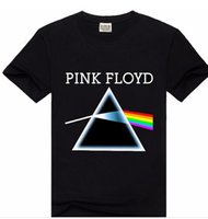 banded polo shirts - Beckham has it too Men s fashion T Shirt Pink Floyd rock band metal party T shirt