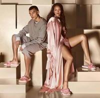 Wholesale New Hot Sale Original High Quality PuMaS CREEPERings Rihanna Creeper X Women Hombre Hot Doll Rihanna Slides