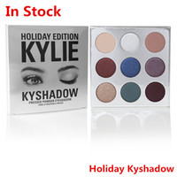 Wholesale In Stock New Hot Kylie Jenner holiday collection lip kit holiday edition kylie Matte lipstick kyshadow and cream shadow HOLIDAY EDITION
