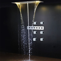 cheap cold and hotled light high quality set toilet best wall mounted shower sets
