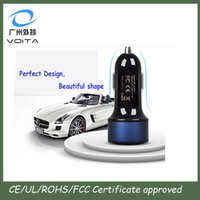 abs auto sales - Top sale Auto electronics a a Dual Port ABS material Volt USB Car Charger