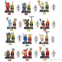 Unisex action figure design - 2 Designs Ninjago Minifigures Building Blocks The Phantom Ninja Classic Toys Action Figures DIY Building Blocks Bricks