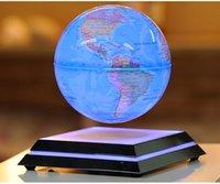 achat en gros de articles haut de gamme-Livraison gratuite Globe de levitation magnétique Leadership créatif Cadeaux de réveil de maison Ornements de bureau de bureau haut de gamme Ouverture de nouveautés