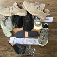 best green gifts - 2017 gift insole Best New boost running shoes Sneakers Kanye west Oxford Tan pirate black Keychain Socks insole Receipt boxes