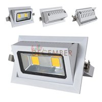 Wholesale New COB LED Ceiling Lights W W LED Downlight Super Bright Recessed LED Ceiling Lamps AC V