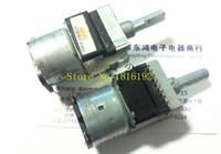 Metal Alloy alps slide potentiometer - Authentic ALPS Alps RK168 type motor potentiometer twin KB axis length MM