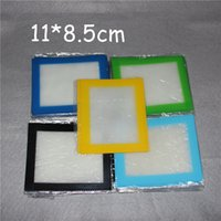 baking container - Silicone wax pads dry herb mats cm cm or cm cm square baking mat dabber sheets jars dab tool for silicon container DHL