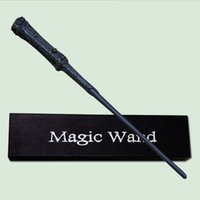 Wholesale FedEx Express Cosplay Marrychistmas Halloween Harry Potter magic of lighting harry potter magical wand with a Gift Box about CM
