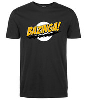 bazinga tee shirt - Fashion streetwear Big Bang Theory t shirt Bazinga streetwear Mens T Shirts Tops Tees pp crossfit brand clothing
