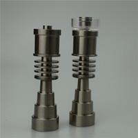Wholesale Titanium Enail mm mm mm Highly Educated Domeless Titanium E Nail for mm mm Enail Coil Adjustable Titanium E Nail