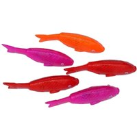 battery operated ride - The stall selling electric fish tail wagging luminous luminous sounding toys carp