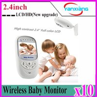 Wholesale 10pcs New upgrade inch Color Wireless Digital HD Video Baby Monitor YX YE