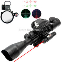 air night sight - Tactical x40 Scope Riflescope Air Rifle Optics Red Green Dot Reticle Sight Scope Night Vision With mm Rail Mount