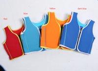 Wholesale Baby Swim Vest Child Swimming Learning Jacket Ring Infant Life Jacket Kids Floatable Swimsuit Boy Girl Cool Rafting Vest hight quali