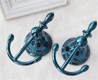 Wholesale 2017 NEW Luxury Alloy Curtain Tie Back Wall Hooks Tieback Holders Hat Coat Robe Hanger Accessories Home Decor