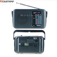 Wholesale Brand New TECSUN R R303 FM MW SW TV Radio retro Receiver Digital Demodulation Stereo Radio Portable Radio High Sensitivity