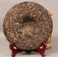 anti cancer foods - Yunnan Pu er tea years old tree Puerh handmade raw tea cake lose weight anti cancer organic food bag packing Freeshipping