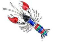 baby onyx - Rainbow Sea Lobster Baby Se Creature Costume Fashionable Jewellry Pin Brooch